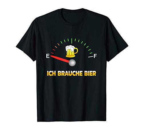 Ich brauche Bier t Design zum Feiern mit viel Spaß faschings T-Shirt