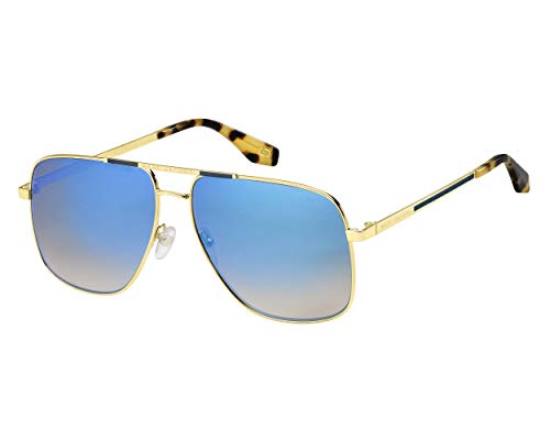 Marc Jacobs Marc 387/S T4 Occhiali, HAVANA HONEY/BL BLU, 60 Adulti Unisex
