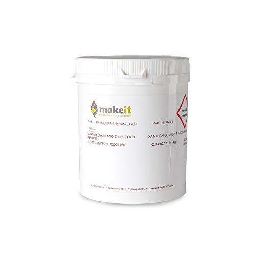 Make it Lab - Gomma Xantana (Xantano) - Grado Alimentare, Gelificante per Cosmetici e Alimentari - 100 g