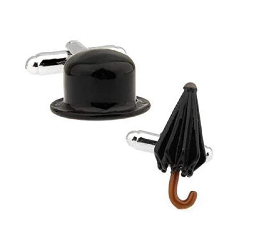 youjiu Fabrik Preis einzelhandel Herren manschettenknöpfeMaterial schwarz Farbe hüte regenschirme Design Manschette