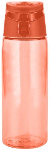 zak! Trinkflasche 750ml in orange, Kunststoff, 45x20x15 cm