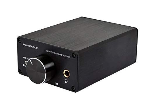 Monoprice UK Desktop Headphone Amplifier