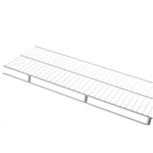 Rubbermaid Wire Shelving, Wardrobe, White, 6-foot by 12-inch (41221)