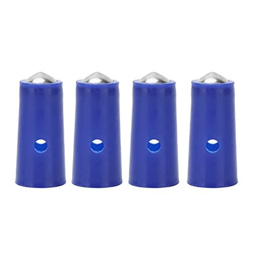 Aguja magnética de ventosas, accesorio de juego de agujas magnéticas para terapia de ventosas, boquilla, bomba de ventosas al vacío, accesorio de punta de boquilla de repuesto, 4 piezas