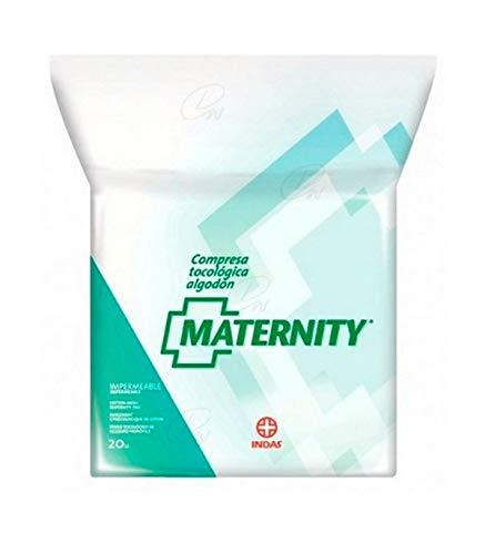 Indasec Maternity Compresa Tocológica Algodón Impermeable