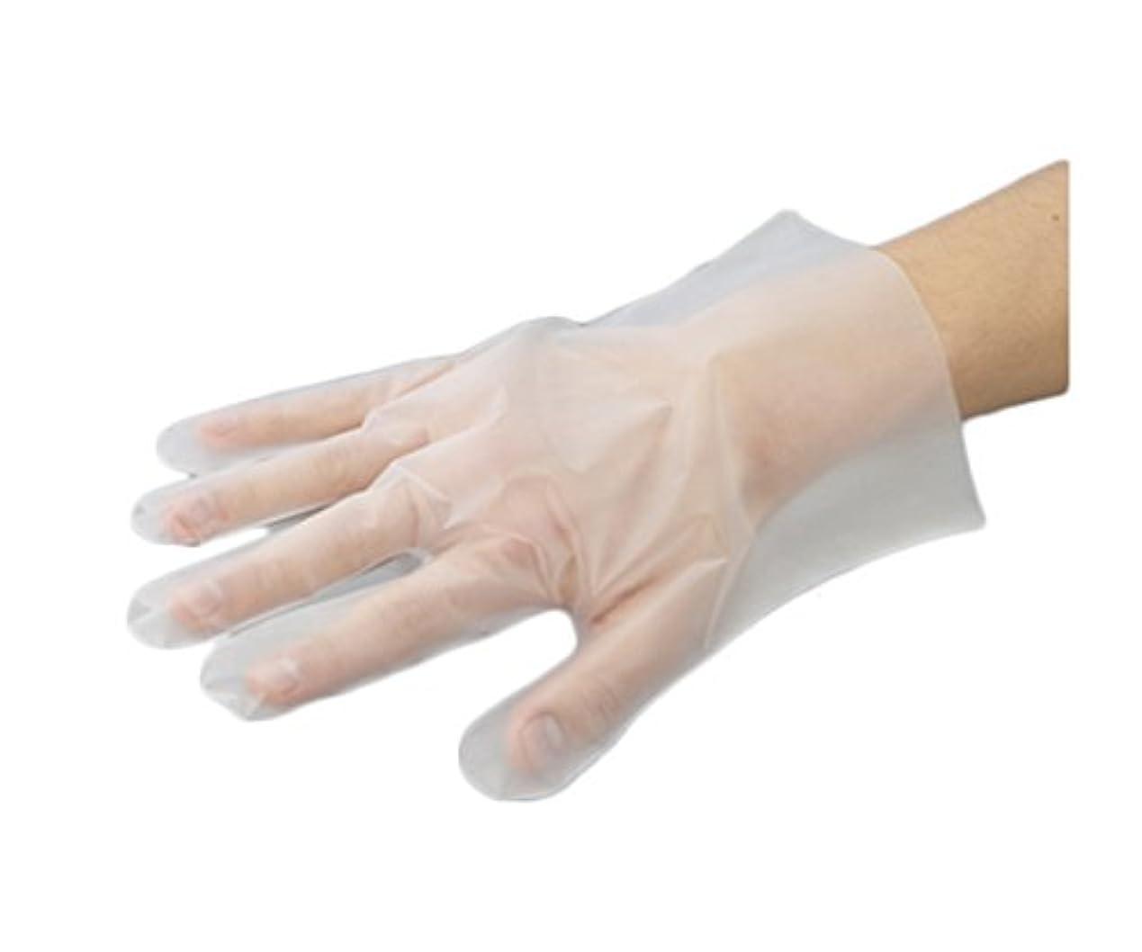オプショナル正当化する居住者アズワン ナビロールポリエチ手袋 M 100枚入 /0-9866-02