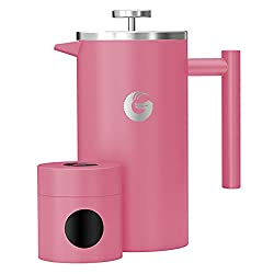 pink coffee maker for a retro style