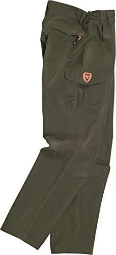 S-ROX WORKTEAM Wasserdichte Hose mit zwei runden Taschen an den Seiten, eine Seitentasche zum Laden mit zentraler Blase und Geldbörse für Herren, Grün Small