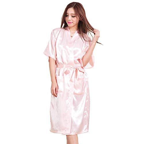 DAFREW Pijama clásico para mujer casual y cómodo de manga...