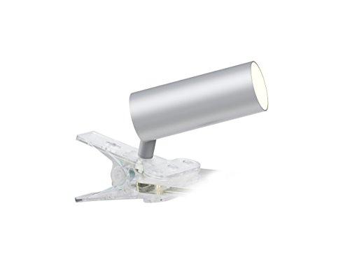 Interfan Foco Led, 4.5 W, Plata, 4.2x4.2x10.6 cm