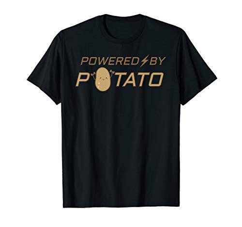 Angetrieben von Kartoffelstampfer Tayto T-Shirt
