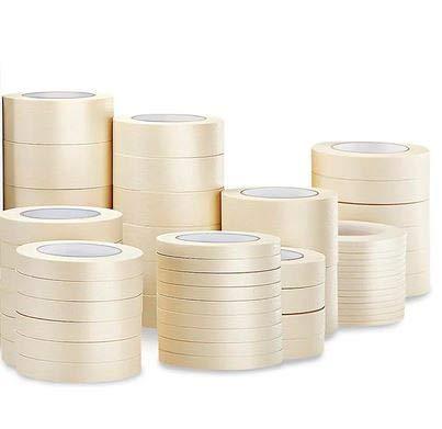 10 Rollen 30mm x 50m Kreppband Malerkrepp Abklebeband Malerband (EUR 0,032 / m)
