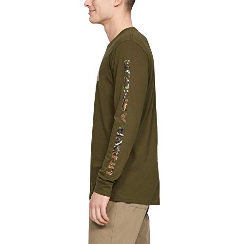 Under Armour Camo Fill Long-sleeve T-shirt, Canyon Green (359)/Outpost Green, 3X-Large