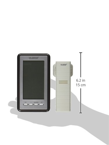 Product Image 7: La Crosse Technology Indoor/Outdoor Temperature WS-9160U-IT Digital Thermometer, Titianium