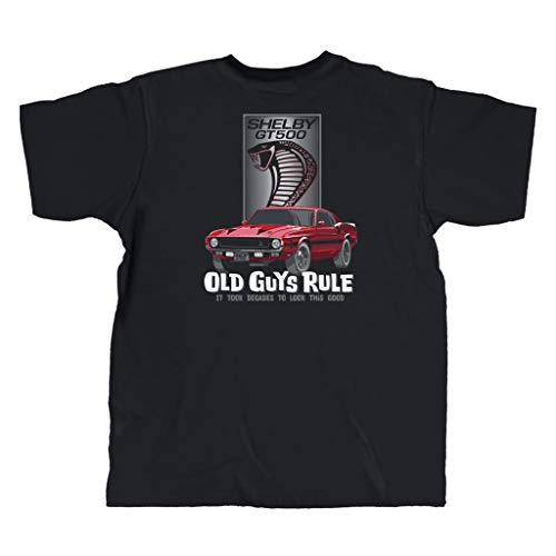 OLD GUYS RULE Men s Shelby Look Good T-Shirt (X-Large) Black
