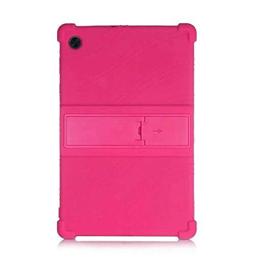 Funda de Silicona para Lenovo M10 TB-X605X505 Tablet PC de 10,1 Pulgadas-Rosado_M10 TB-X605X505
