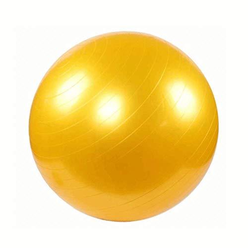 AIYKXY Mini Pilates Ball, Gymnastikball für Bauch-Beine-Po Übungen-Gelb,43cm