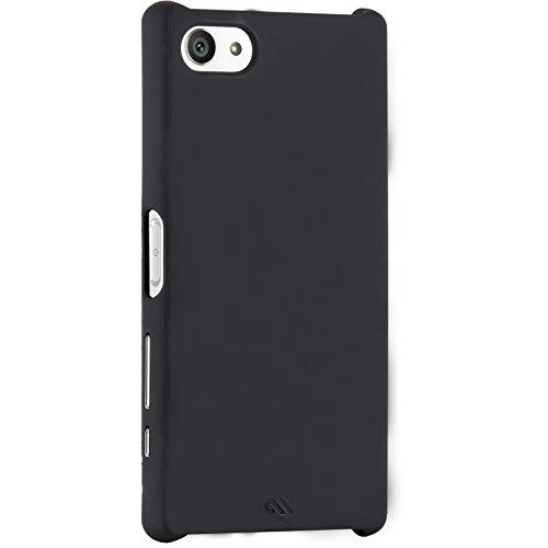 Case-Mate CM033739 Barely There Case für Sony Xperia Z5 compact - extrem dünne und leichte Schutzhülle mit Soft-Touch Beschichtung - schwarz