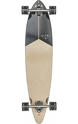 Globe Herren Pintail 37 Skateboard/Longboard, Teak/Black, 37.5