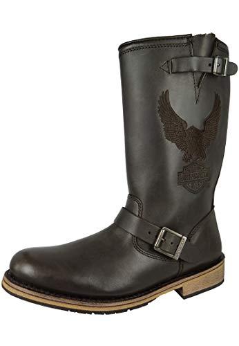 Harley Davidson botas biker boots d95183 ingeniero Clint Brown Brown, Größe Schuhe Herren:EUR 45
