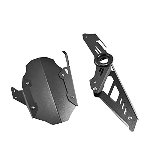 Salpicaduras Cubierta Cubierta Protectora Cadena Guardabarros Trasero CNC para Motocicleta para K-awasaki NINJA400 para N&INJA 400250 Z400 para Z 400 2018 2019 2020 Accesorios Guardabarros