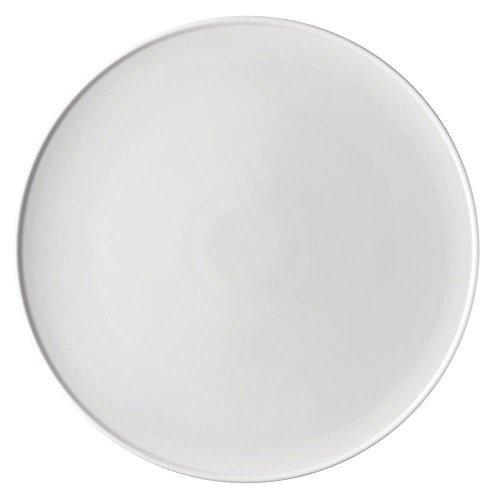 Thomas ONO Platzteller flach 32 cm Teller, Porzellan, Weiss, 34 x 34 x 2 cm