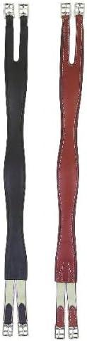 Perri's Leather Girth Overlay Finally popular Max 88% OFF brand