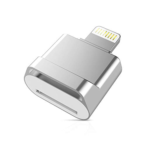 Liuying Adaptador OTG para lector de tarjetas MicroSD TF para iPad Macbook teléfono móvil