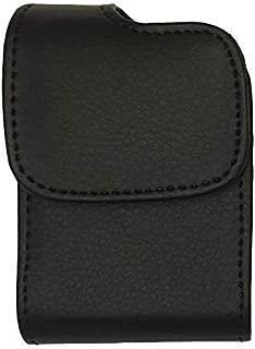 Premium Classic Style Pouch case with Belt Clip for Tandem Diabetes Care Insulin Pump (T:Flex Pump/T:Slim G4 Pump/T:Slim X2 Pump) (Vertical/Black/1)