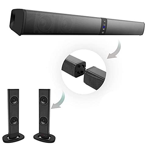 Soundbar, Sistema de som home theater Alto-falante Bluetooth Computador alto-falantes para TV Soundbar Box Subwoofer Rádio Music Center Boom Box