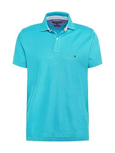Tommy Hilfiger Herren Poloshirt Regular Fit türkis (54) L