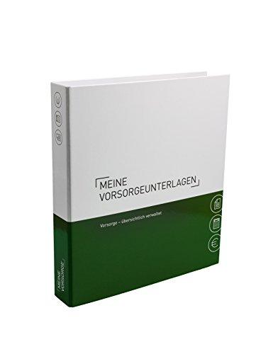Themenringbuch mit Register/Trennblättern - Vorsorge - Optimale Struktur für die Ablage der Vorsorgeunterlagen