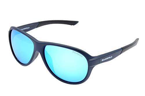 Gamswild Gafas de sol WM 4534 GAMSSTYLE Moda Gafas de sol Mujer Hombre Rojo Azul Gafas de Marca TR90