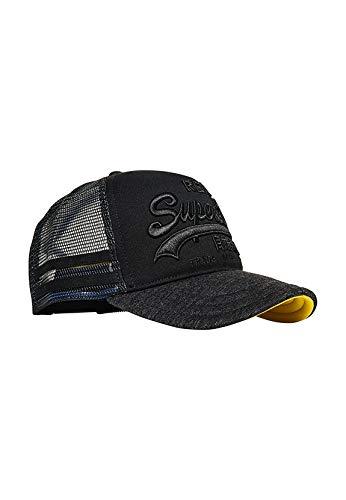 Superdry Cap Premium Goods Cap Black, Size:ONE Size