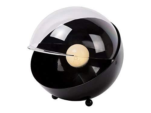Lucide BLUP - Lampe De Table - Ø 19 cm - Noir