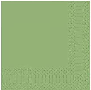 Tovagliolo Duni DuniSoft Economy cm 40 x 40 verde scuro in confezione da 60 pezzi