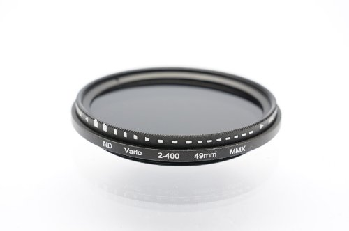 Photo Plus 49mm Fader ND2 to ND400 Fading Control Filter