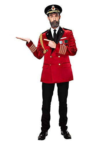 Costume Culture Captain Obvious Adult Costume, Red, X-Large