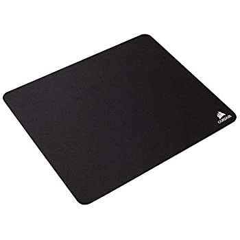 Corsair MM100 Medium Cloth Surface Mousepad  Glide-Optimised Textile Surface Anti-Slip Base Designed for Optical and Laser Mice 320 mm x 270 mm x 3 mm  - Black