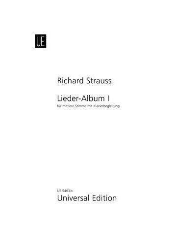 Strauss, R: Lieder-Album Band 1 mittel