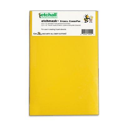 etchall etchmask: 9'x15' Blank Stencil Vinyl (8 Sheets)
