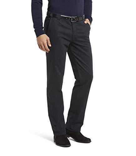 MEYER Pantalones de los Hombres Roma Thermo - 2-3915 Azul-Marino - Chino térmico Colour de Tejido Vaquero