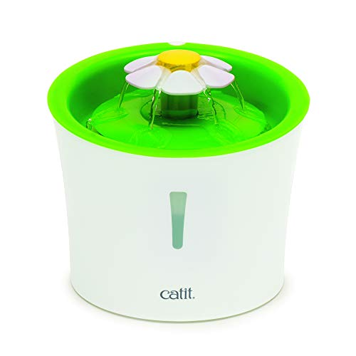 Catit Original Flower Fountain with Water Level Window, 3 Litre