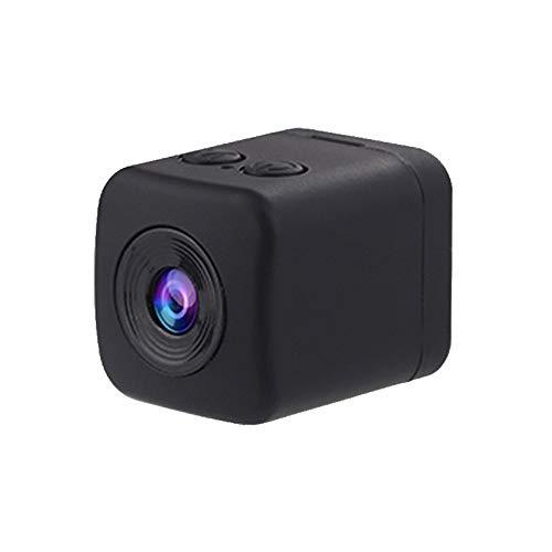 SXZHSM Professionelle Versteckte Mini-Kamera HD-Spionagekamera Super Wasserdicht 1080P Remote-Action-Videokamera Bewegungserkennung Überwachungskamera Jagdkamera (Color : Black)