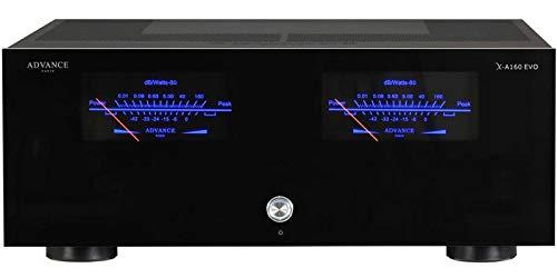 Advance Acoustic XA160EVO Nero Amplificatore di potenza