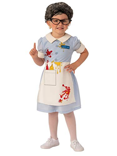 Rubie's Opus Collection Child's Lunch Lady Costume, Large