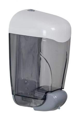 Distributeur savon Oléane - 1,5 - blanc/transparent
