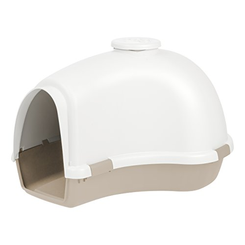 IRIS USA Large Igloo Shaped Dog House,...