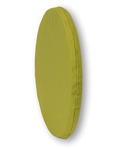 """beties """"Wunschton"""" Sitzkissen rund ca. 36 cm Ø, Stuhlkissen in 7 zeitlosen Uni-Farben, Perfekter Sitzkomfort für alle Gelegenheiten, Farbe Mauve"""