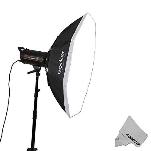 Fomito Godox 47'/120cm Octagon Softbox Bowens Montagering für Studio Strobe Speedlite Flash